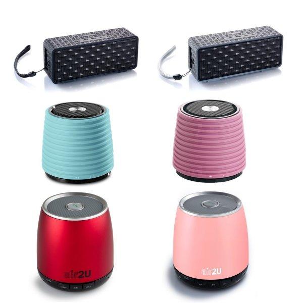 [Ebay-Wow] Aiptek Air2U E20 / E12 / E10 Bluetooth Lautsprecher, teilweise 47% unter Idealo