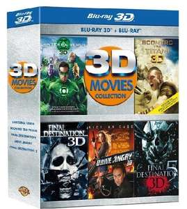 [Blu-ray]  3D Movies Collection (5 Filme, 17,90€) @ Amazon.it