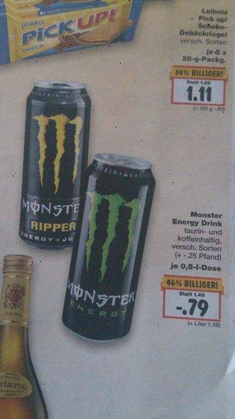 [KAUFLAND] Monster Energy - 0,5 Liter - 0,79€ - Bundesweit?