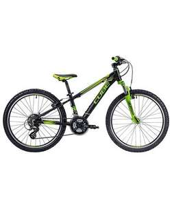 "@engelhorn Cube Kids Mountainbike 240 black""n""green 24"""