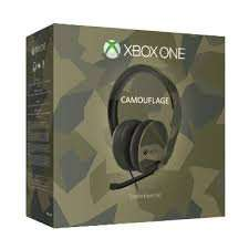 [Conrad.de] Xbox One Stereo Headset (Armed Forces Camouflage) für 35,80€