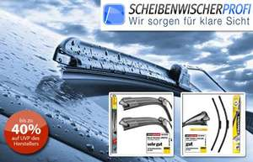 9 Euro sparen bei scheibenwischer-profi.de mit Qypedeals-Gutschein, z.B. Bosch Twin Spoiler für 16,40 €
