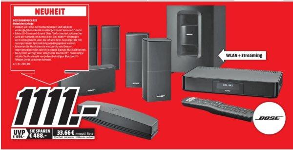 [Lokal Mediamarkt Nordhausen] Bose Soundtouch® 520 - 5.1 Home Cinema System mit Bassmodul für 1111,-€