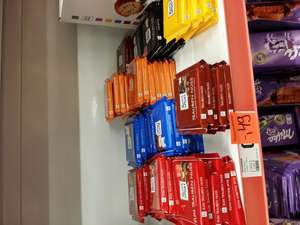 Ritter Sport Schokolade 100gr 0,49€