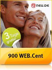 Web.de 900 Web.Cent(Wert 9€) für den Abschluss einer kostenlosen 3-Tages Premiummitgliedschaft bei NEU.de - keine automatische Verlängerung