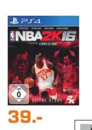 [Lokal Saturn Ludwigsburg] NBA2K16 Playstation® 4 für 39,-€