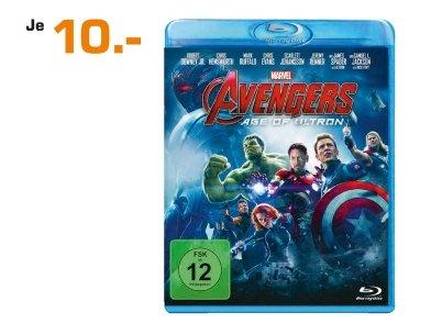 [Lokal Saturn Lübeck-Lindenarcaden und Dänischburg] Avengers - Age of Ultron [Blu-ray] für nur 10,-€ Ab 01.10