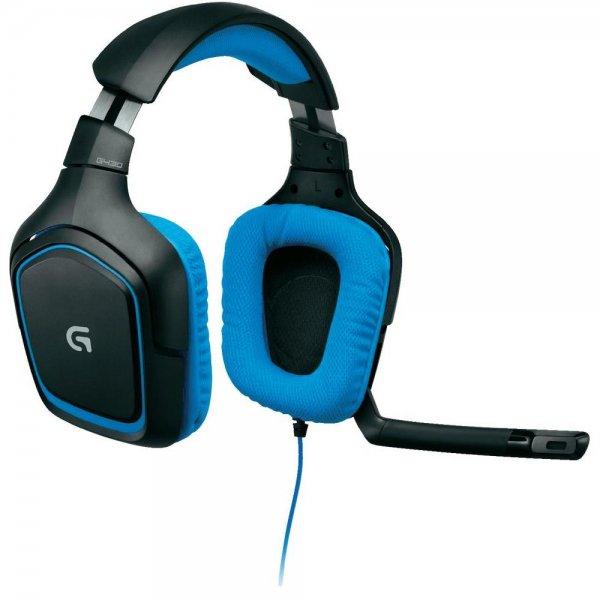 Logitech G430 Surround 7.1 Gaming Headset (PC & PS4) für 47,90€ @Conrad.de