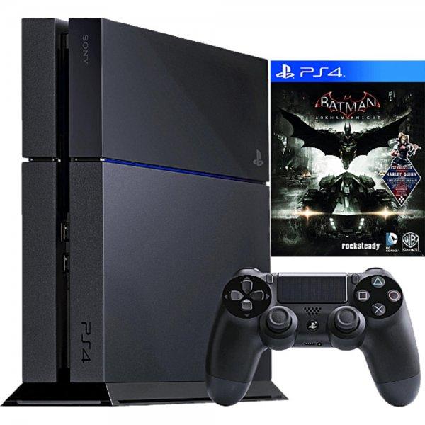 Playstation 4 + Batman Arkham Knight + 89,75€ in Superpunkten für 349€ bei Rakuten