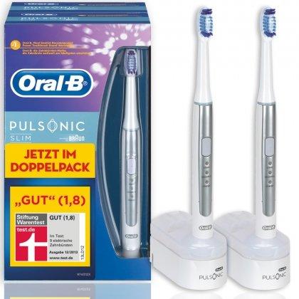 Oral-b pulsonic slim duo Pack + 25% Rückzahlung Aktion