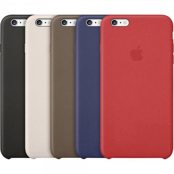 [Conrad] Apple iPhone 6/6S und Plus Modelle Backcover Leder Case für 33,90€
