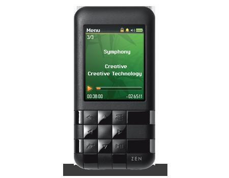 Creative Zen Mosaic 16 GB, 49,99 Euro, schwarz o. pink