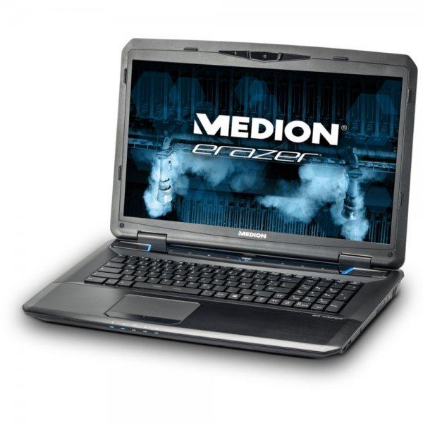 Medion Erazer X7831/X7835 - Core i7-4710MQ, 16GB RAM,128GB SSD, 1TB HDD, Blu-ray, 17,3 Zoll Full-HD matt, Windows 8.1 für 1.449€ mit GTX 880M, für 1.499€ mit GTX 970M oder 1.699€ mit GTX 980M bei Rakuten/Medion [+ 362€ bis 417€ Superpunkte]
