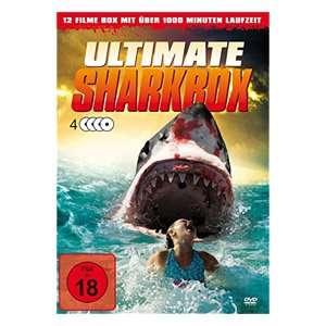 Ultimate Sharkbox (DVD) 12 miese Hai-Filme inkl Sharknado 1 (und Danny Trejo Box) lokal@real