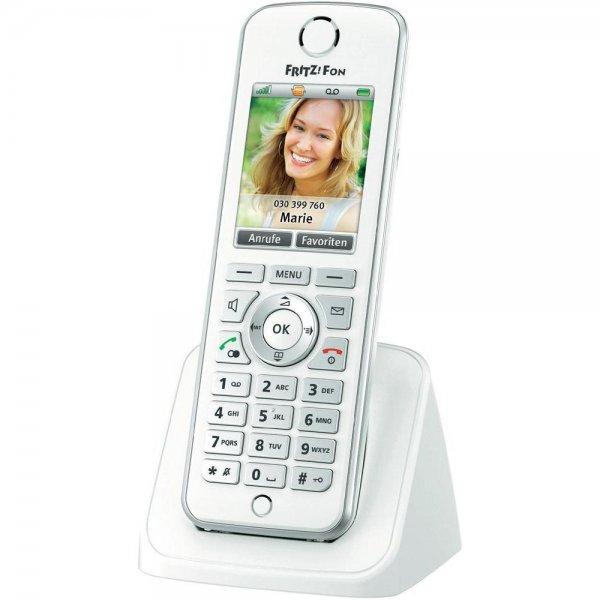 FRITZ!Fon C4 DECT Telefon (Farbdisplay, beleuchtete Tastatur) für 47,90€ bei Conrad.de