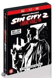 [Blu-ray] Sin City 2: A Dame to Kill For 3D (Steelbook) @ proxis.com