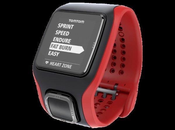 TOMTOM MULTI-SPORT GPS-Uhr schwarz/rot [Saturn Late Night Shopping] für 199 € bzw. 194 € (mit 5 € Newsletter-Gutschein)