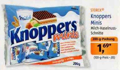 [ALDI SÜD] Knoppers Minis 200g für 1,69€ ab 08.10.2015