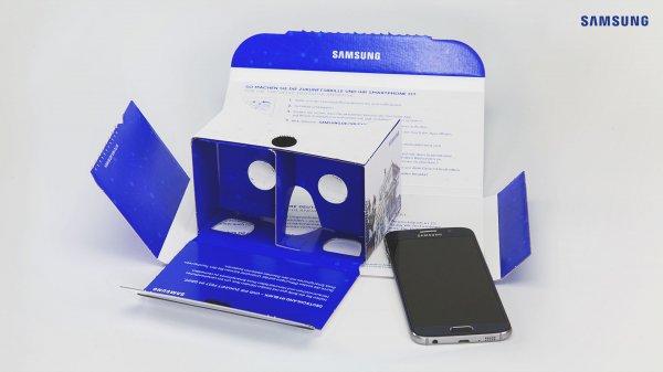 25.000 gratis VR Brillen im Cardboard Stil + 250 Gear VR gewinnen
