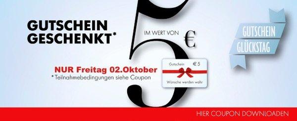 ( Lokal Kassel Citypoint Freitag 2.10)Gutschein für 15 Euro kaufen+5Euro Gratis dazu