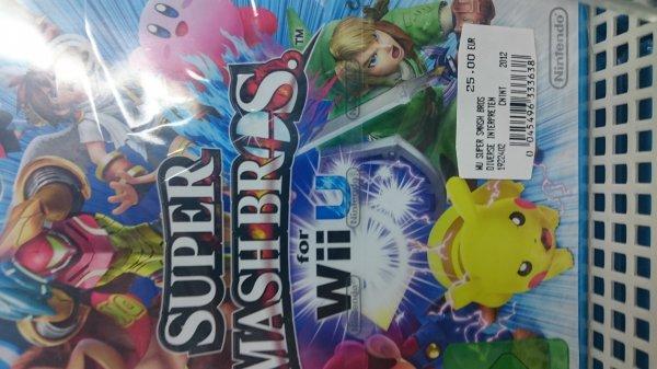 [Lokal Media Markt Zwickau] Super Smash Bros. for Wii U für 25€