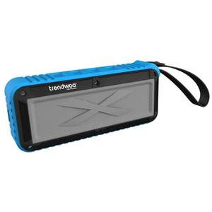 [Amazon Blitzangebot] Trendwoo Rockman-L Blau (Outdoor Bluetooth-Lautsprecher)