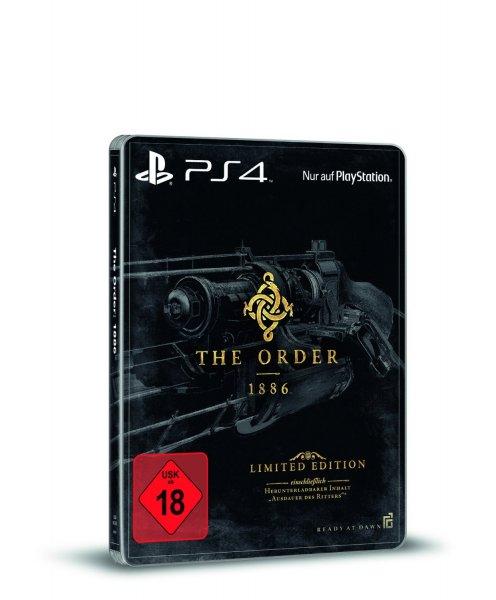 The Order: 1886 - Ausdauer des Ritters Limited Steelbook Edition (PS4) für 30,70€ bei Amazon.de