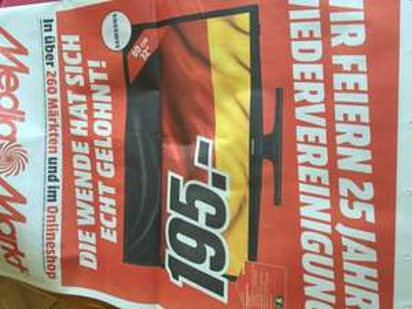 Samsung UE32J4100 für 195,00 EUR bei Media Markt