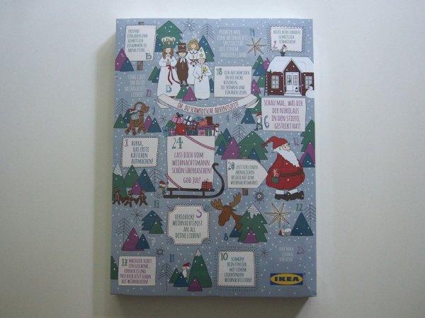 (BUNDESWEIT) Adventskalender von IKEA mit 275 g Pralinen und mindestens 2x5 Euro IKEA Gutschein