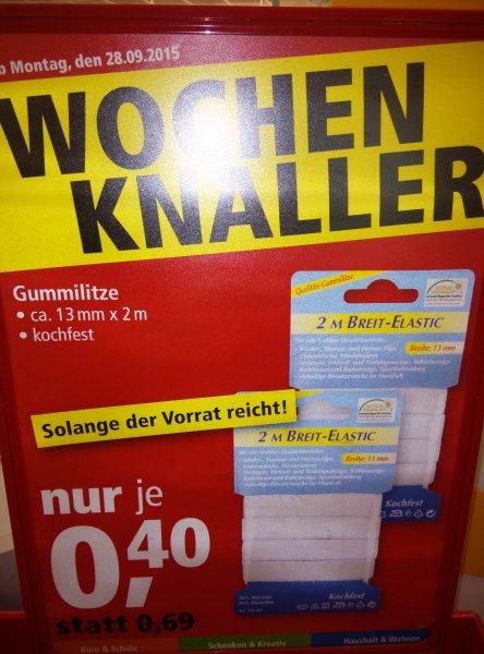 [PfennigPfeifer] Gummilitze für Gummitwist: 2m Band für 0,40€!