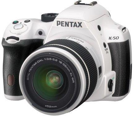 Pentax K-50 inkl. 18-55 Objektiv für 322,21€