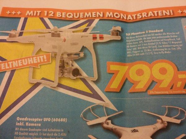 804.95€ DJI Phantom 3 Advanced, Euronics [Bundesweit?]