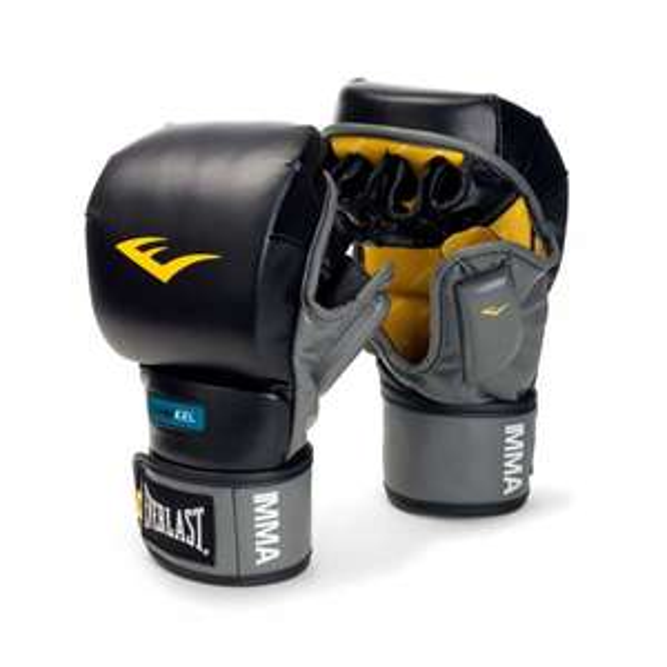 Everlast MMA Gel Training / Striking Gloves , TOP MMA Handschuhe!