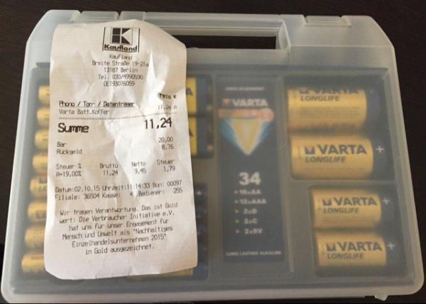 Varta Batteriekoffer