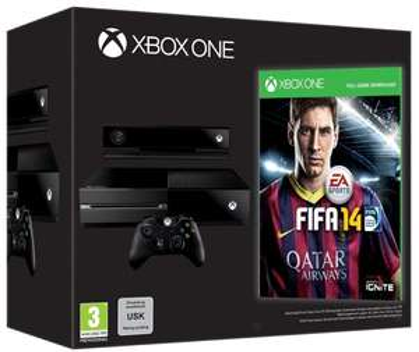 Xbox One Day One Bundle mit Fifa 14 und Kinect [AmazonUK WHD]