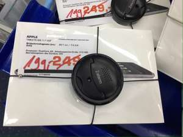 [lokal WOB] iPad mini Wifi für 199€ (239€ idealo) bei Saturn Wolfsburg