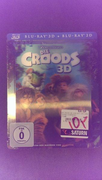 [Lokal] Die Croods 3D Blu-ray Steelbook mit Lent-Card - Saturn Stuttgart für 10€