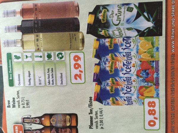 Trink & Spare/ KW 42: Pfanner Eistee 2 Liter für 0,88 € /
