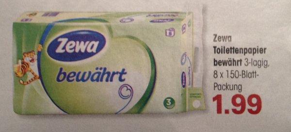 """*EDEKA SÜDWEST* KW41 Zewa Toilettenpapier """"bewährt"""" für 1,49€"""