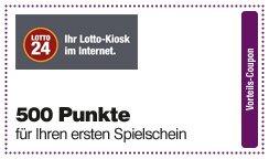 500 Punkte bei Lotto24 (DeutschlandCard) Neukunden