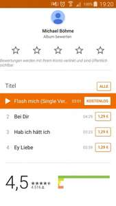 Mark Forster - Flash Mich Single kostenlos im PlayStore