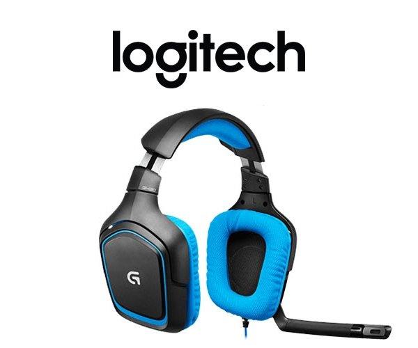 [One] Logitech G430 Surround Sound Gaming Headset blau