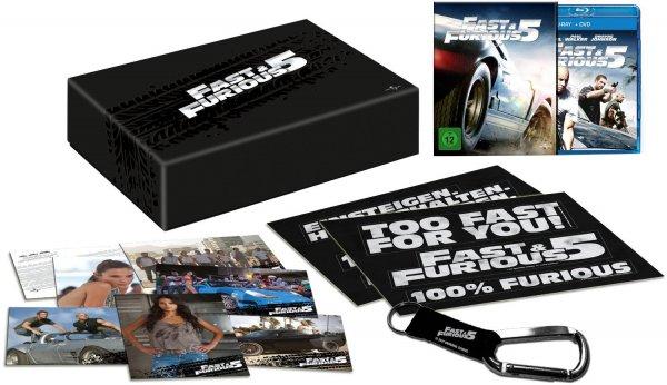 [MediaDealer Liveshoppingangebot] Fast & Furious 5 - Limited Collector's Box (Blu-ray) für 8,65€ inc.Versand