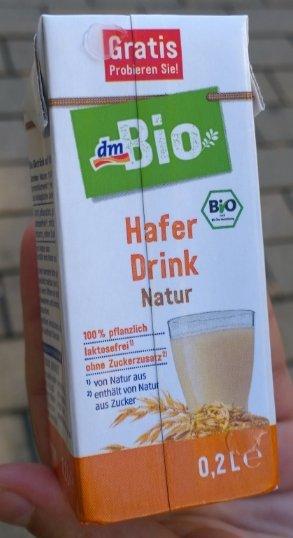 Gratis Bio Hafer Drink 0,2L bei DM an der Kasse zum mitnehmen