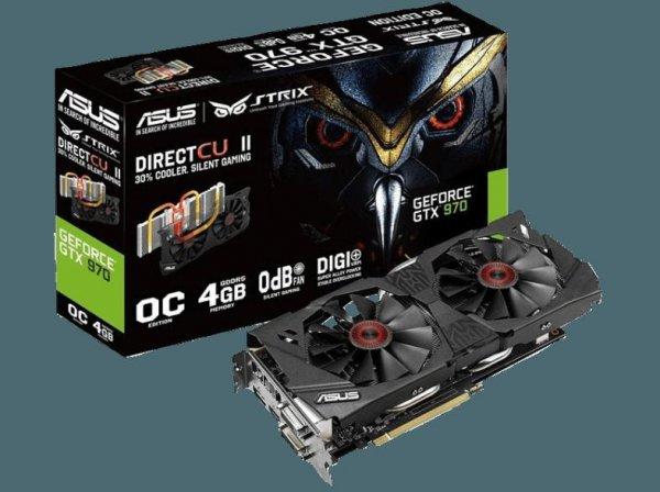 [Österreich]Media Markt Online  Asus Strix GeForce GTX 970 4GB mit 30€ Cashback für 269 € Keine Versandkosten nach AT