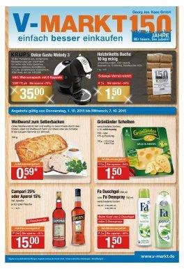 V-Markt Holzbriketts Buche eckig 10kg - 1,50€
