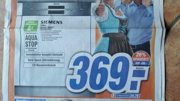 Siemens Einbau-Geschirrspüler SN55M505EP, lokal Expert Döring