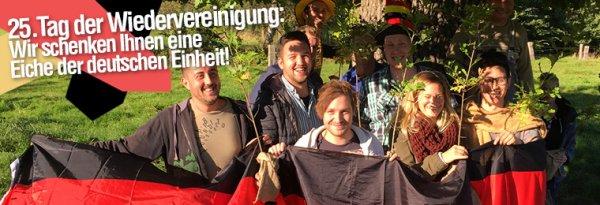 Eine kostenlose Eiche auf www.pflanzmich.de mitnehmen - VSK: 7,90€