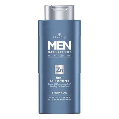 (Rossmann) Schwarzkopf MEN 3-Fach-Effekt Shampoo ver.Sorten für 1,79€ (Angebot + Coupon)