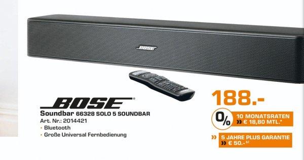 Lokal Saturn Dortmund / Lünen  Bose Solo 5 TV Soundbar